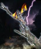 El rayo y el fuego
