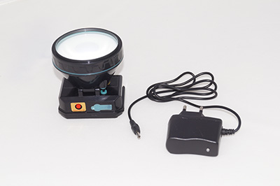 Lámpara fosfénica PRO con cargador